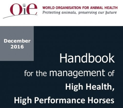 High Health, High Performance Horses: guida OIE