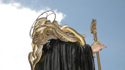 Da Angizia a San Domenico: il culto dei serpenti – Terre Marsicane (Comunicati Stampa)