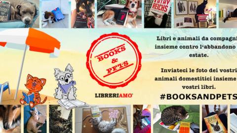 """Parte """"Books & Pets"""", libri e animali da compagnia insieme contro l'abbandono – Libreriamo"""