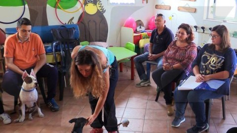 """Primo incontro del """"Progetto dottor dog"""" – CN24TV"""