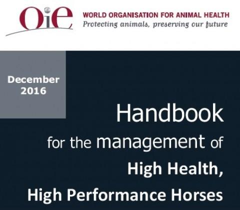 High Health, High Performance Horses: guida OIE