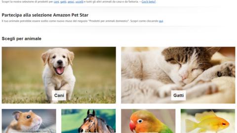 Amazon lancia, in versione beta, uno store per gli animali domestici – Gizblog (Comunicati Stampa) (Blog)