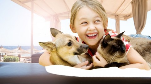Perché i cani ei gatti fanno bene ai bambini? – Focus