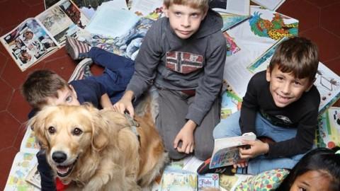I bambini, la lettura e l'aiuto dei cani  Buone notizie oggi gratis in … – Corriere della Sera