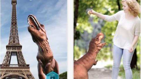 Monster Park – Dino World: riportare in vita i Dinosauri con la realtà … – iPhoneItalia – Il blog italiano sull'Apple iPhone