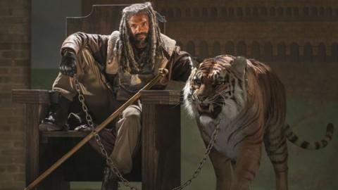 The Walking Dead, omaggio alla tigre Shiva. Animali e zombie – MondoFox