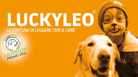 LuckyLeo: perché leggere ad alta voce con un cane fa così bene – Vegolosi.it