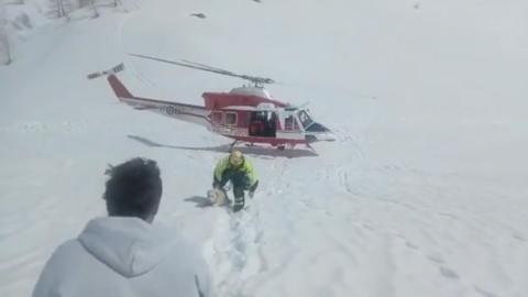 La storia di due cani salvati dalla neve dopo 5 e 26 giorni – Montagna.tv