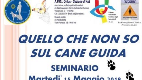 Ad Asti un seminario sui cani guida: prenotazione necessaria per le … – ATNews