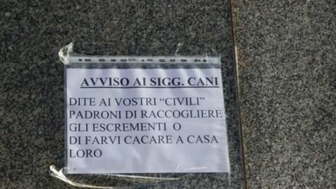 """Furci Siculo: """"Pulisci dove il tuo cane sporca"""". Lotta dei vigili urbani … – Gazzetta Jonica"""