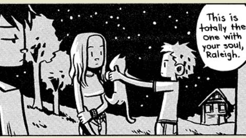 Gatti, anime e graphic novel: Alla deriva – Senza Linea (Comunicati Stampa)