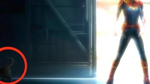 """Captain Marvel: nel poster ufficiale è nascosto Chewie, il """"gatto"""" di … – Comics Universe (Blog)"""